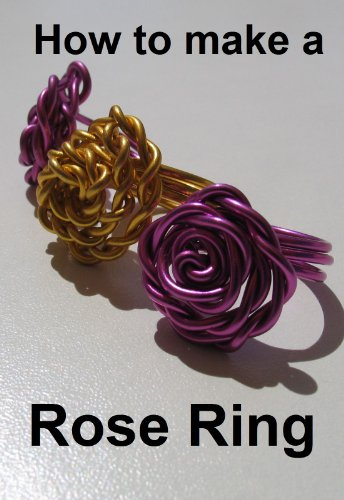 How to make a flower ring. Step by step instructions