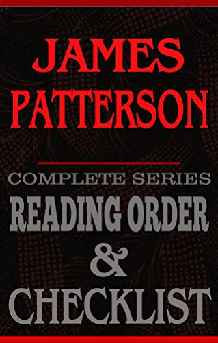 James Patterson Complete Series Reading Order Checklist Great