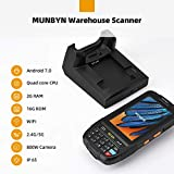 MUNBYN 3G 4G Handheld Android 7.0 POS Terminal with