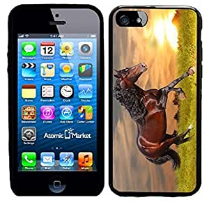 DAOJIE Generic IP6 Sunset Running Horse For Iphone 6 plus 5.5 inch Case Cover wangjiang maoyi by lolosakes