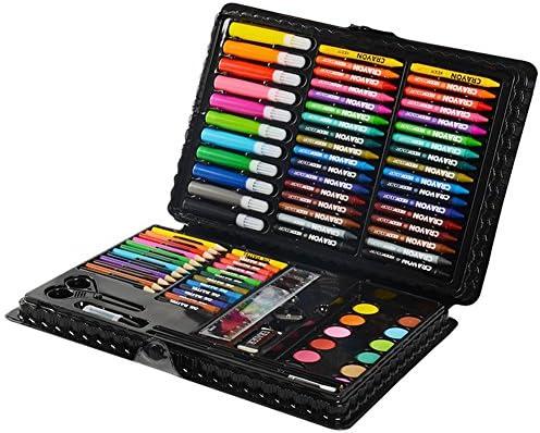 LIVEHITOP 109 PCS Artístico Set de Pintura y Dibujo, Profesional Caso Kit Colores Lápices Acuarela Rotuladores Oleo Pastel Regalo para Niños, Estudiante, Adulto: Amazon.es: Hogar
