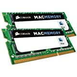 Corsair Apple Certified 16 GB (2x8 GB) DDR3 1600MHz (PC3 12800) Laptop Memory CMSA16GX3M2A1600C11
