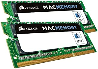 Corsair Apple Certified 16 GB (2x8 GB) DDR3 1600MHz (PC3 12800) Laptop Memory CMSA16GX3M2A1600C11