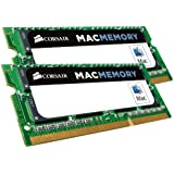 Corsair CMSA16GX3M2A1600C11 Apple Mac 16GB (2x8GB) DDR3 1600Mhz CL11 Apple Zertifizifiert SO-DIMM Kit