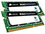 Corsair Apple Certified 16GB (2x8 GB) DDR3 1600MHz PC3 12800 Laptop Memory (CMSA16GX3M2A1600C11)