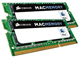 Corsair Apple Certified 16 GB (2x8 GB) DDR3 1600MHz (PC3 12800) Laptop Memory 1.35V