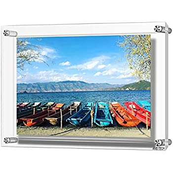 Amazon Com 12x17 Acrylic Wall Mount Picture Frames A3 Size Clear Photo Frame For