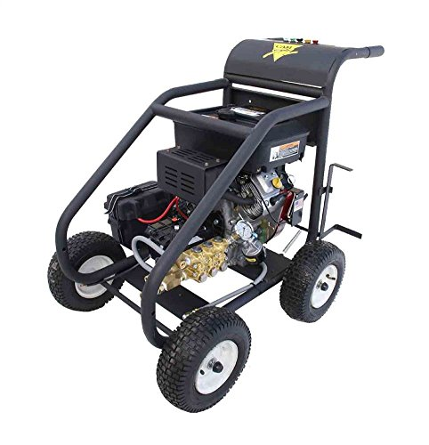 Cam Spray 3000HM Cart Mount Gas Powered Cold Water Pressure Washer, 3000 psi, 50' Hose from Cam Spray