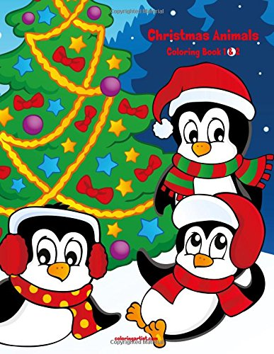 Download Christmas Animals Coloring Book 1 & 2 pdf