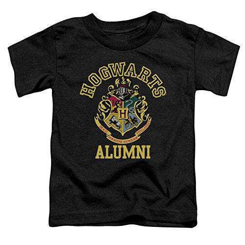 Trevco Harry Potter Hogwarts Alumni Little Boys Toddler Shirt (Black, 4T) (Tee Alumni)