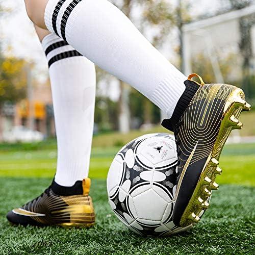 サッカーシューズ メンズ スパイク サッカートレーニングシューズ ジュニア 大人 専門家サッカー ファッション 滑り止め 軽量 男女兼用 20.0cm~25.5cm