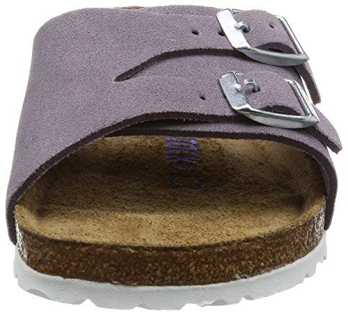 Birkenstock Vaduz Leder Softfootbed - Mules Mujer Violeta (Lavender)
