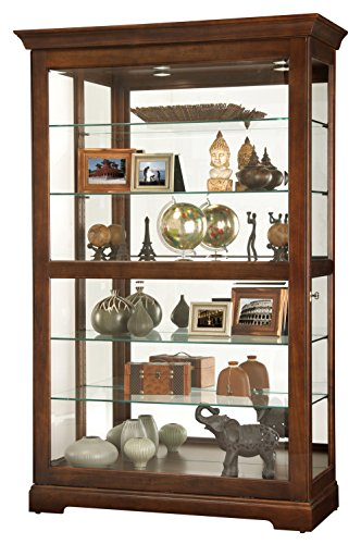 Howard Miller 680625 Curio Cabinet, Wood