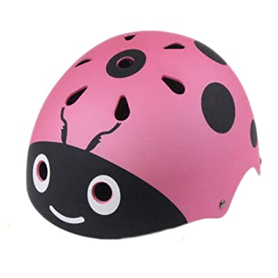 PRETYZOOM Kids Bike Helmet Adjustable Portable Multi-Sport Bicycle Safety Helmet Cycling Skateboard Scooter Skate Inline Skating Rollerblading Protective Gear Helmet : Sports & Outdoors