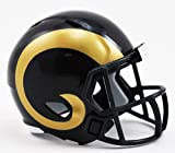 LOS ANGELES RAMS NFL Cupcake / Cake Topper Mini Football Helmet