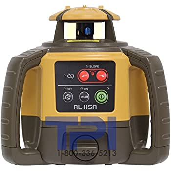 Topcon RL-H5A Self-Leveling Rotary Grade Laser Level