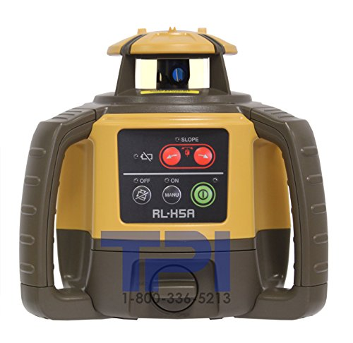 Topcon RL-H5A Self-Leveling Rotary Grade Laser Level (Best Laser Level For Grading)