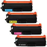 IKONG 4-Pack Compatible for Brother TN431 TN-431 TN 431 Toner Cartridges Work with MFC-L8900CDW HL-L8360CDW HL-L8360CDWT HL-L8260CDW MFC-L8610CDW Printer