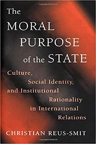 Book The Moral Purpose of the State