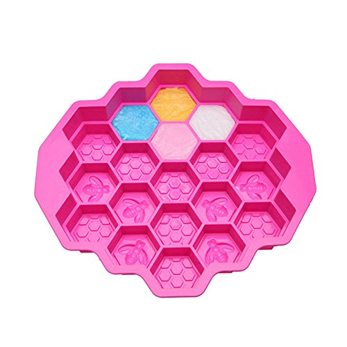 Amazon.com: TOOLING 9 Inch 3D DIY Bee Honeycomb Shaped Silicone Mold Cake Pans DIY Baking Bakeware Cake Decorating Tools: Kitchen & Dining