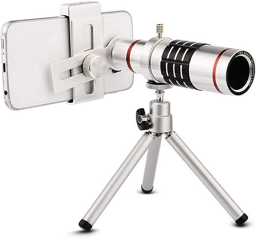 Teleobjetivo 18X con trípode para smartphone Kit de lentes con ...