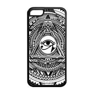 Lmf DIY phone casePyramid Illuminati Don't Trust Anyone Triangle Protective Printed Cover Case for iphone 4/4s Designed by HnW AccessoriesLmf DIY phone case