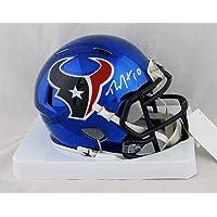 $155 » DeAndre Hopkins Autographed Houston Texans Chrome Mini Helmet- JSA W Auth White