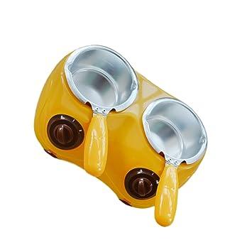 Fuentes de Chocolate Fondue de Horno Caldera de Fusión de Queso Calentador Eléctrica Crisol Bricolaje -