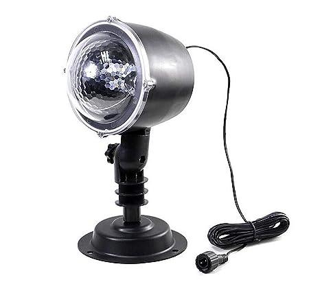OOFAY Navidad Proyector Lámpara, Luz De Proyección Al Aire ...