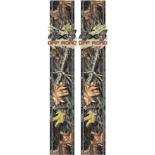 Rear Panel Quarter Skin (Mossy Oak Graphics 12010-BU Break-Up Mud Splash '4x4 Off Road' Rear Quarter Panel Kit)