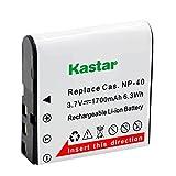 Kastar Battery 1 Pack for Kodak LB-06 LB06 LB-060 LB060 PixPro AZ251 AZ365 AZ421 AZ525, Casio Exilim Zoom EX-Z650, HP V5060 V5061 V556 V556AU V5560 V5560U V5560AU, BENQ Dli-202 DLi202