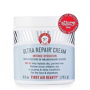 2 Pack - First Aid Beauty Ultra Repair Face Moisturizer 1.7 oz Retinol Nature Well Clinical Advanced Moisture Cream, Large, 16 oz Tub