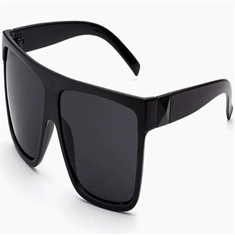 Nuevas gafas de sol grandes del marco del negro del estilo ...
