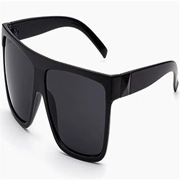 3e80d764fcf New Fashion Retro Style Black Large Frame Sunglasses Mens Womens Oversized  UV400 Eyewear Anti-UV Anti-glare Driving Sunglasses for Outdoor Protect ...