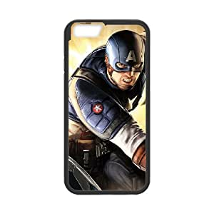 "WJHSSB Cover Shell Phone Case Captain America For iPhone 6 (4.7"")"
