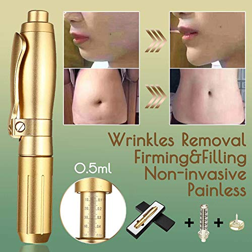 XHH 0.5ML Hyaluron Injection Pen Non-invasive Wrinkle Removal Face Lifting Skin Tightening Remover Firming Anti Ageing Kit Micro Pen,B by XHH (Image #1)