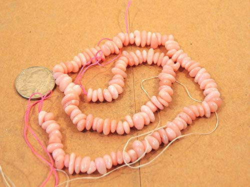 Pink Andean Opal Beads 15 Strand