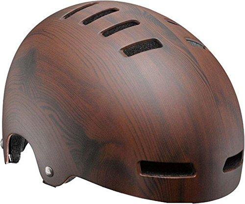 Lazer-Lazer-Sport-Street-Deluxe-Woodgrain-Helmet-Unisex