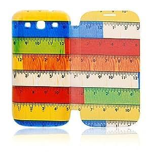 WQQ Funda de piel para Samsung Galaxy Ruler S3 I9300