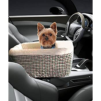 Amazon.com : Pet Console Booster, Hkim Car Seat Lookout Carrier with ...