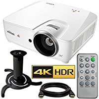 Vivitek HK2288 4K DLP Projector with High Dynamic Range (White) with Ceiling Bracket Bundle