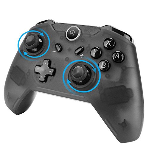 WISSBLUE Switch Controller Wireless Switch Pro Controller Gamepad Support Gyro Motion Controls Dual Shock for Nintendo Switch Zelda/Splatoon 2/Star Allies/Mario Odyssey etc.