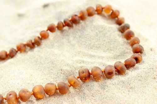 Authentic Baltic Amber Necklace - Amber Fossil Jewelry