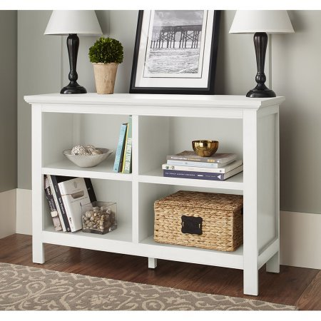10 Spring Street Burlington Collection Horizontal Bookcase, white by 10 Spring