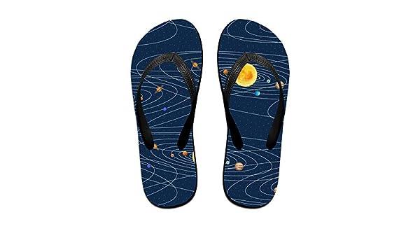 Planet Mens and Womens Light Weight Shock Proof Summer Beach Slippers Flip Flops Sandals
