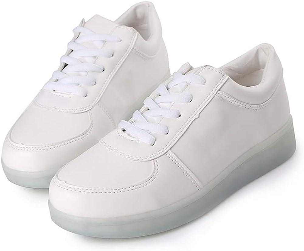 Chaussure de Sport Homme Respirante Lumi/ère Casual Mode Sneakers Outdoor Running Chaussures De Course