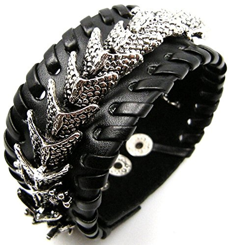 Golastartery Alloy Dragon Bracelets Bangle