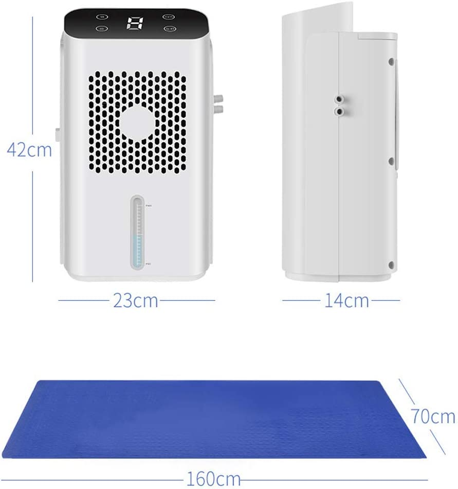 Car Travel Camping,A NCBH Water Cooling Mat Electric Water Mat Quick Mattress Cooler DC 12V Input Suitable for Indoor