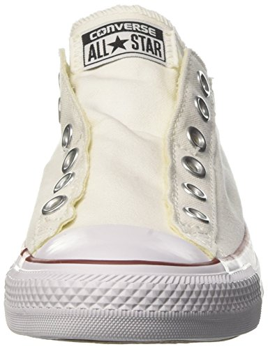 adulto Ctas Converse Slip unisex On Sneaker Ox Bianco 7AgRwqYgpP