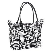 Airee Fairee Shoulder Canvas Tote Bag Summer Beach Bag Animal Print